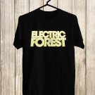 Electric Forest Fest 2017 Black Tee's Front Side by Complexart