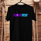 Float Fest July 2017 Black Tee's Front Side by Complexart z2