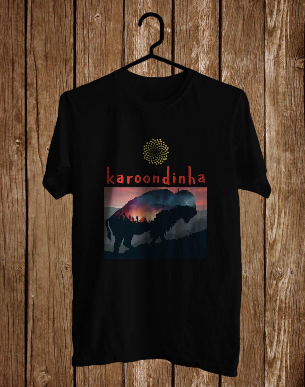 Karoondinha Festival logo Black Tee's Front Side by Complexart z2