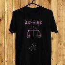 2Chainz Pretty Girls Like Trap Music logo black Tee's Front Side by Complexart z1