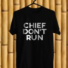 Jidenna Long live The Chief logo Black Tee's Front Side by Complexart