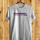 Creamsfield Music fest Logo White Tee's Front Side by Complexart z1