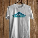 Bumbershoot Music fest Logo White Tee's Front Side by Complexart