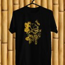 Cult of Luna Gold Flower Logo Black Tee's Front Side by Complexart