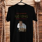 K.D. Lang Ingenue Redux 25th Anniv Black Tee's Front Side by Complexart