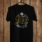 Telluride Jazz Music Festival Logo Black Tee's Front Side by Complexart