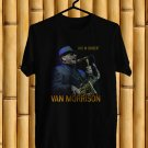 Van Morrison World Live 2017 Black Tee's Front Side by Complexart z1