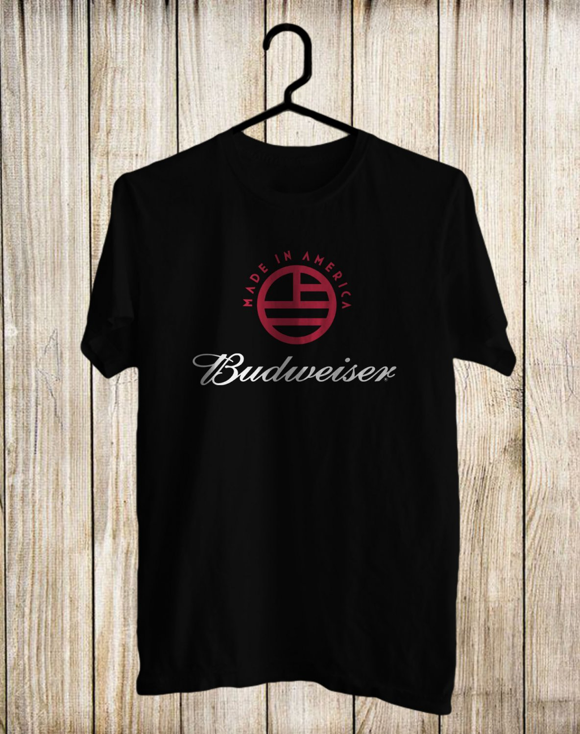 Budweiser Made In America Festival 2017 Black Tee's Front Side by Complexart z1