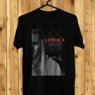Astrid S Party's Over Tour 2017 Black Tee's Front Side by Complexart z2