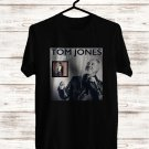 Tom Jones Long Lost Suitcase Tour 2017 Black Tee's Front Side by Complexart