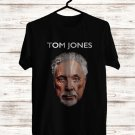 Tom Jones Long Lost Suitcase Tour 2017 Black Tee's Front Side by Complexart z1