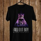 Fall Out Boy Mania Tour 2017 Black Tee's Front Side by Complexart z1