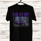 Fall Out Boy Mania Tour 2017 Black Tee's Front Side by Complexart z2