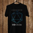 Odesza A Moment Apart Tour 2017 Black Tee's Front Side by Complexart
