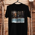 Steve Earl and The Dukes Tour 2017 Black Tee's Front Side by Complexart z2