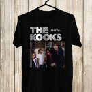 The Kooks Best Of Tour 2017 Black Tee's Front Side by Complexart z1