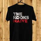 The Kooks Naive Black Tee's Front Side by Complexart
