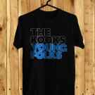 The Kooks Young Folks Black Tee's Front Side by Complexart