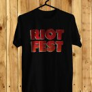 Riot Fest Sept Logo 2017 Black Tee's Front Side by Complexart z2