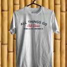 All Things Go Fall Classic Music Fest Logo 2017 White Tee's Front Side by Complexart