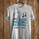 ORO Valley Music Fest Logo Sept 2017 White Tee's Front Side by Complexart