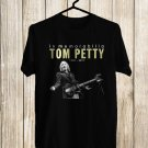In Memorabilia of Tom Petty 1950-2017 Black Tee's Front Side by Complexart z1