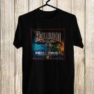 Houston Open Air Music fest Logo 2017 Black Tee's Front Side by Complexart z2