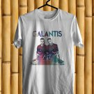 Galantis The Aviary Tour Logo 2017 White Tee's Just Front Side by Complexart