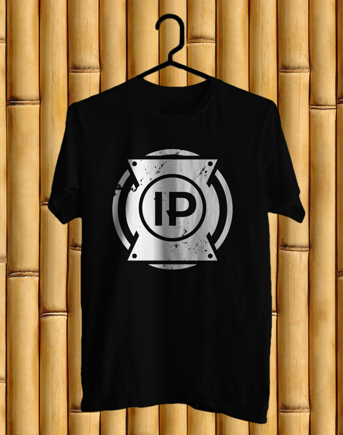I Prevail Logo Tour 2017 Black Tee's Front Side by Complexart