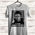 Liam Gallagher World Tour 2017 White Tee's Front Side by Complexart z1
