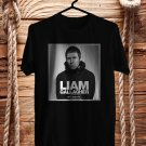Liam Gallagher World Tour 2017 Black Tee's Front Side by Complexart