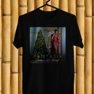 Fantasia Christmas After Midnight Tour 2017 Black Tee's Front Side by Complexart