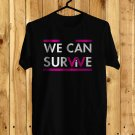 We Can Survive Show Oct 2017 Black Tee's Front Side by Complexart z1