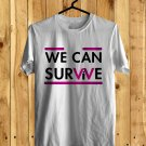 We Can Survive Show Oct 2017 White Tee's Front Side by Complexart z1
