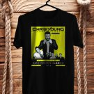 Chris Young Losing Sleep Tour 2018 Black Tee's Front Side by Complexart z1