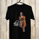 Lana Del Rey Tour 2018 Black Tee's Front Side by Complexart z1