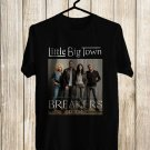 Little Big Town The Breakers Tour 2018 Black Tee's Front Side by Complexart z2