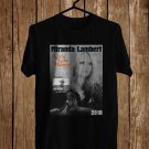 Miranda Lambert Livin Like Hippies Tour 2018 Black Tee's Front Side by Complexart z1