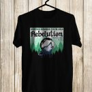 Rebelution Winter Green Tour 2018 Black Tee's Front Side by Complexart z3