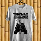 Toby Mac Hits Deep Tour 2018 White Tee's Front Side by Complexart z1