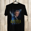 Andrea bocelli Live Tour 2017 Black Tee's Front Side by Complexart z3