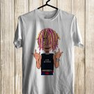 Lil Pump The Tour 2018 White Tee's Front Side by Complexart z1