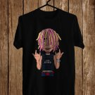 Lil Pump The Tour 2018 Black Tee's Front Side by Complexart z4