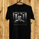 Marylin Manson Heaven upside Down Tour 2018 Black Tee's Front Side by Complexart z2