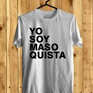 Shakira Yo Soy Maso Quista White Tee's Front Side by Complexart z1