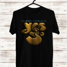 YES Logo Tour 2018 Black Tee's Front Side by Complexart z1