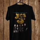 YES Celebrating 50th Anniversary Tour 2018 Black Tee's Front Side by Complexart z1