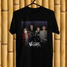 The Vamps Night and Day UK Tour 2018 Black Tee's Front Side by Complexart z1