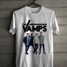 The Vamps Night and Day UK Tour 2018 White Tee's Front Side by Complexart z1