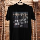 Stonesour and Halestorm Tour 2018 Black Tee's Front Side by Complexart z1